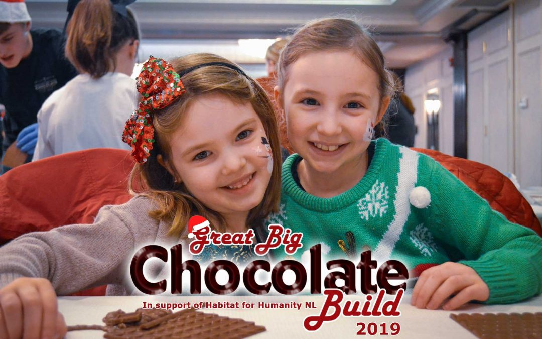 The Great Big Chocolate Build 2019